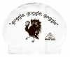 Water Gear Goggle Turkey Latex Swim Cap
