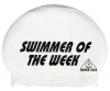 Water Gear Swimmer of the Week Latex Swim Cap
