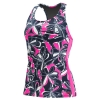 Dolfin Aquashape Knotty Flowers Racerback Tankini Top Female