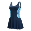 Dolfin Aquashape Iris Colorblock Swimdress Female