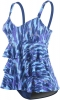 Dolfin Aquashape Avanti Ruffle Tier One Piece Female