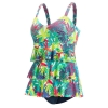 Dolfin Aquashape Botanica Ruffle Tier One Piece Female
