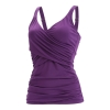 Dolfin Aquashape Solid Wrap Tankini Top Female
