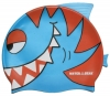 Water Gear Blue Pirahna Silicone Swim Cap
