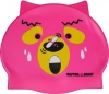 Water Gear Pink Bear Silicone Swim Cap