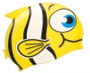 Water Gear Yellow Fish Silicone Swim Cap