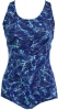 Dolfin Ocean Conservative Solid Lap Suit Print Female Clearance