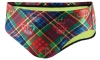 Speedo Proper Plaid Water Polo Brief Male