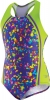 Speedo Spectacular Splatter 1pc Sport Splice Girls