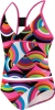Speedo Circular Motion 2pc Butterfly Back Tankini Girls