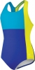 Speedo Colorblock Splice Ultraback One Piece Suit Girls