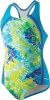 Speedo Rainforest Tie Dye Sport Splice One Piece Suit Girls