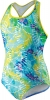 Speedo Rainforest Tie Dye Keyhole One Piece Suit Girls