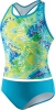 Speedo Rainforest Tie Dye Tankini Two Piece Suit Girls