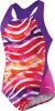 Speedo Camo Chameleon Keyhole Splice One Piece Suit Girls