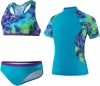 Speedo Jungle Rhythm Rashguard Three Piece Set Girls