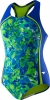 Speedo Tie Dye Blaze Sport Splice Girls