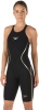 Speedo Fastskin LZR Racer X Open Back Kneeskin Female Black/Gold