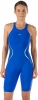 Speedo Fastskin LZR Racer X Open Back Kneeskin Female Speedo Blue