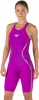 Speedo Fastskin LZR Racer X Open Back Kneeskin Female Deep Purple