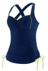 Speedo Cross Back Tankini Top Female