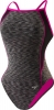 Speedo Space Dye Thin Strap One Piece Female