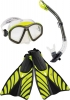 Speedo Hydroflight Swim Mask/Snorkel/Fins Set