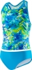 Speedo Girls 4-6X Tie Dye Splash Keyhole Tankini 2PC