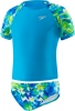 Speedo Girls 4-6X Tie Dye Splash Rashguard 2PC Set