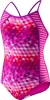 Speedo Girls Illusion Cubes Side Splice 1PC