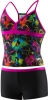 Speedo Girls Neon Love Boyshort 2PC