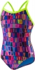 Speedo Flipturns ProLT Purple Printed Propel Back Female
