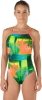 Speedo Turnz Green Endurance Lite One Back Female