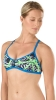 Speedo Turnz Clash Time Endurance Lite Fixed Back 2PC Top Female