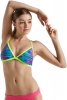 Speedo Missy Franklin Signature Rainbow Tides Triangle 2PC Top Female