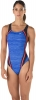 Speedo Red Bright and Blue Quantum Spice One Piece Female
