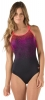 Speedo Texture Blend PowerFlex Eco One Piece Female