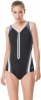 Speedo Endurance+ Plunge Zip Contour Swimsuit Female