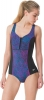 Speedo Endurance Lite Print Touchback Swimsuit Female