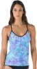 Speedo Print Strappy Tankini Top Female