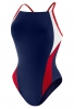 Speedo Launch Splice Endurance+ Cross Back Female Youth
