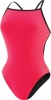 Speedo Flipturns Solid Reversible Fresh Back Female