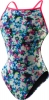 Speedo Flipturns Cut Flowers Endurance Lite One Back Female