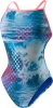 Speedo Endurance Lite Printed One Back Female Blue/Pink