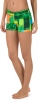 Speedo Turnz Green Endurance Lite Printed Swim Short Female