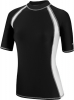 Speedo Spliced Rashguard w/Zip Pocket Female