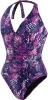 Speedo Vibrant Skin Halter Surplice 1pc Female