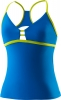 Speedo Strappy Keyhole Tankini Swim Top Female