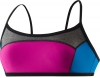 Speedo Heather Color Blocked Swim Top Female
