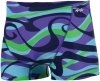 Dolfin Reversible Vortex Blue/Purple Square Leg Male